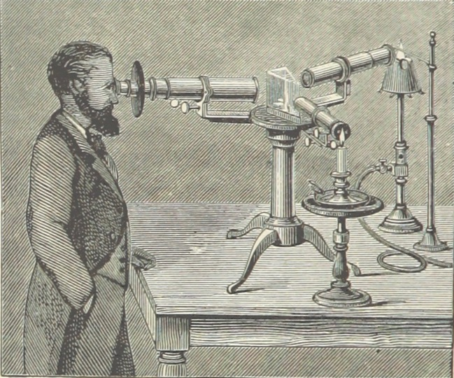 "The Spectroscope, from ""The Half Hour Library of Travel, Nature and Science for young readers"" (London 1896; British Library)"