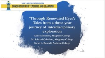 'Through Renovated Eyes': Tales from a Three-Year Journey of Interdisciplinary Exploration